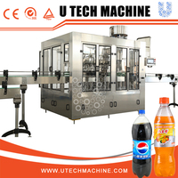 Automatic Pet Bottle Carbonated Water Bottle Fillers