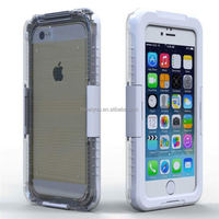 Shenzhen company latest design waterproof mobile phone case for iPhone 6