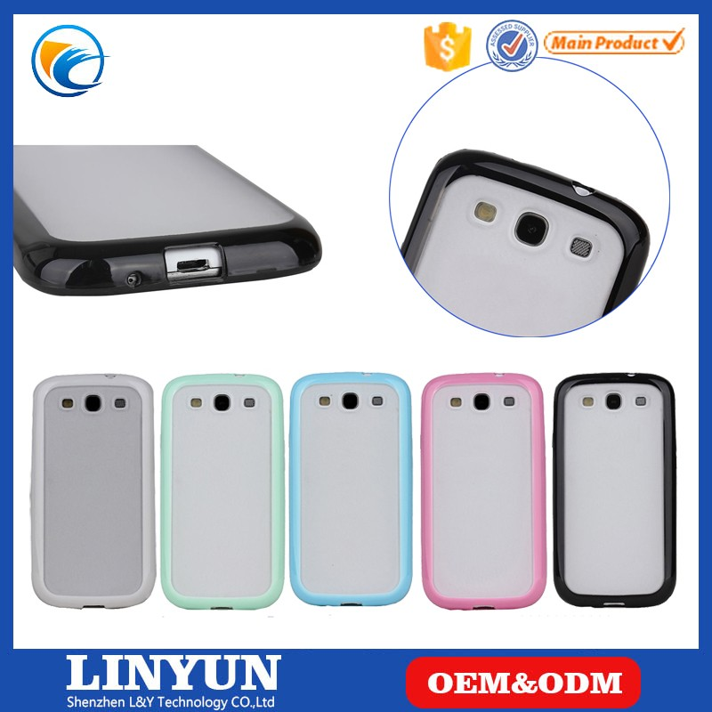 Factory Price Matte PC TPU Hybrid Phone case for samsung galaxy s4 , for galaxy S4 Back Case
