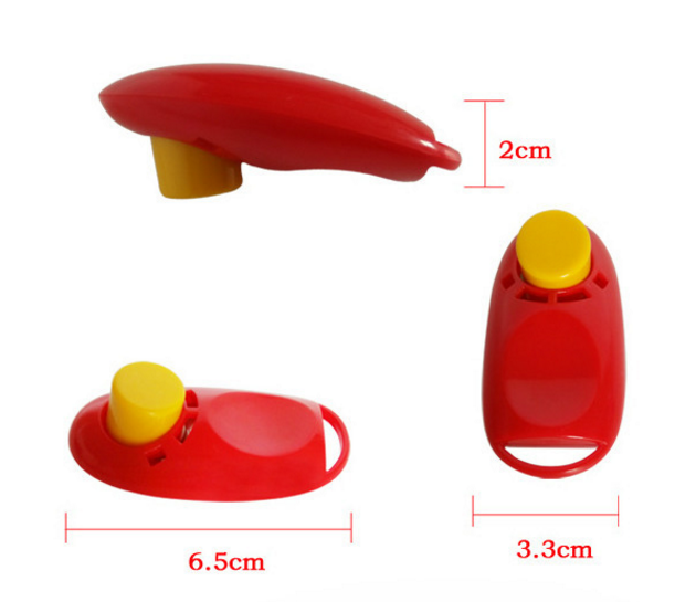 Hot Sale Pet Training Clicker with Wrist Strap Dog Training Clicker