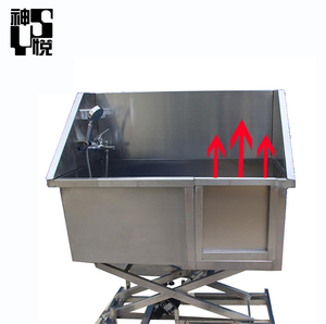 Hot Sale Cheap Price hydraulic electric pet shower tub dog grooming bath table