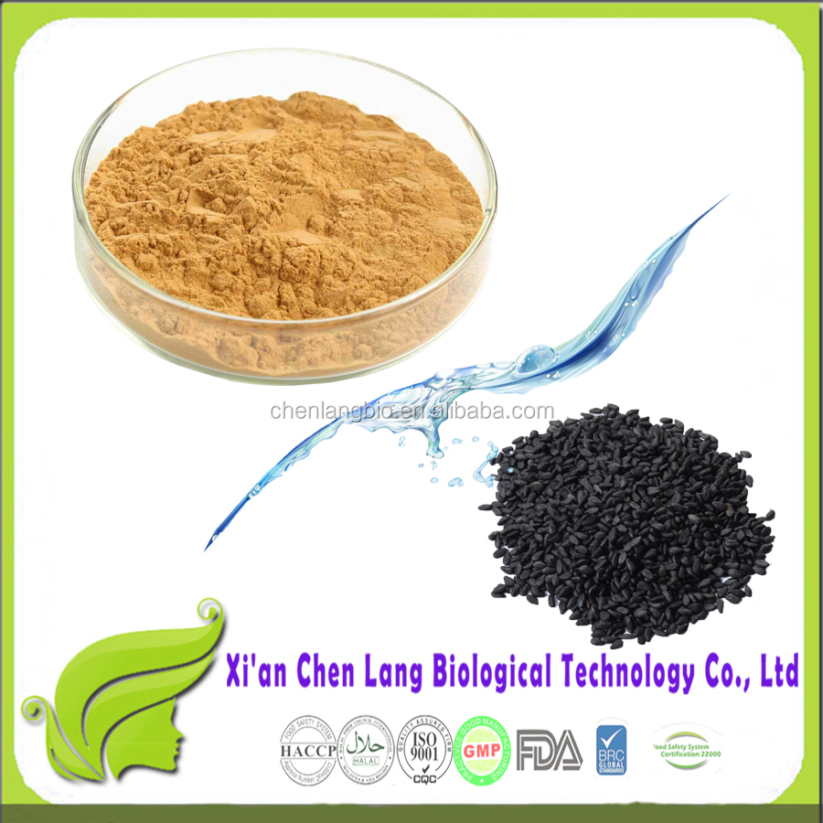 Food Grade Herbal Plant Extract Powder Sesamin Black Sesame Extract