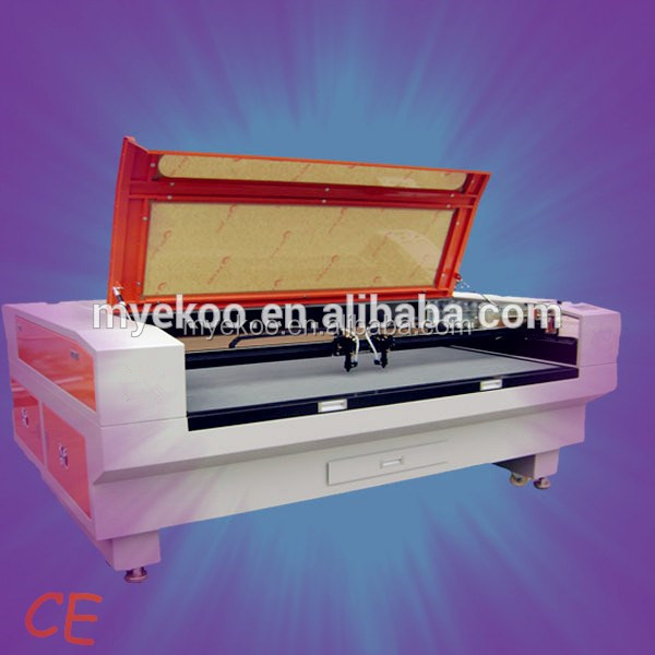 China products high Quality Double heads laser metal cutting machine, laser engraving cutting machine