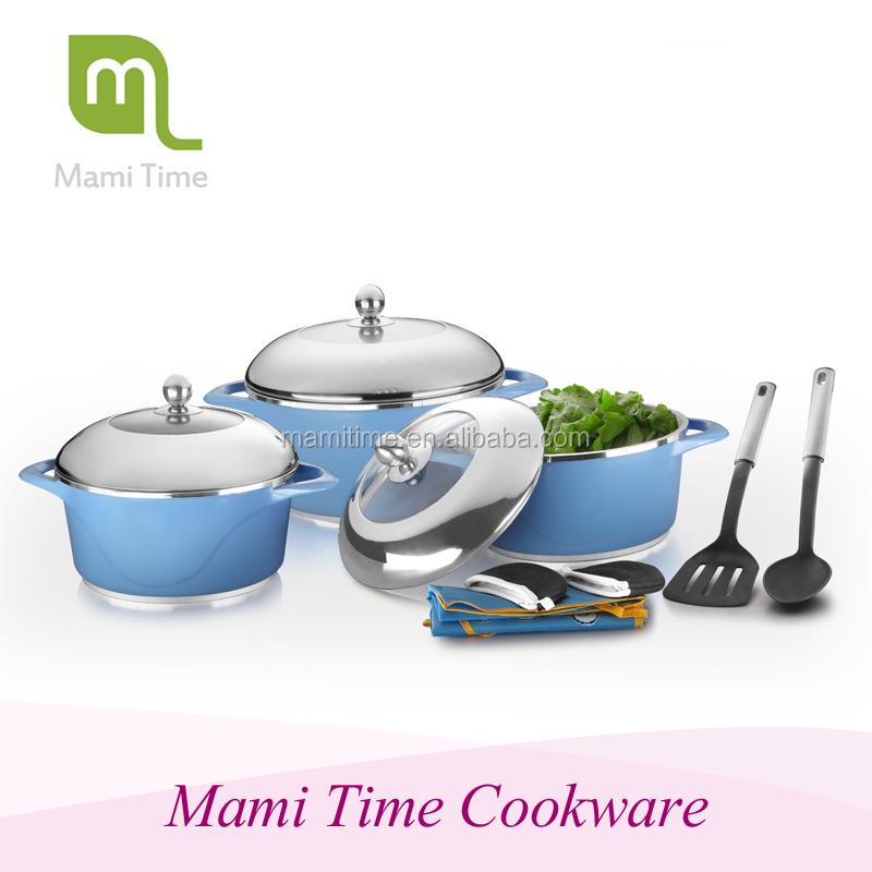 2015 die cast newest silicone kitchen utensils unique for Buy kitchen cookware