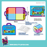 Water doodle diy drawing bag for kid