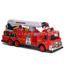 B/O plastic fire engine battery powered truck toys rc high speed car