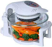 CE GS CB RoHS LFGB approval 12L commercial electric bread halogen oven