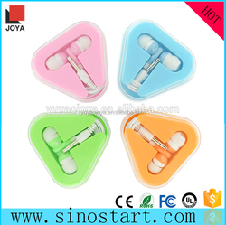 China wholesale good quality earphones fashion earphones in case for tv