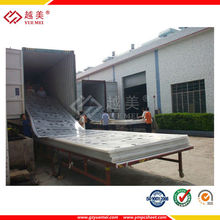 used in 130 countries polycarbonate for plastic flat sheet roof