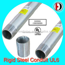 hot dip galvanized rigid steel conduit