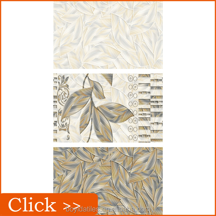 Embossed Faux Leather 3d Clearance Pattern Ceramic Wall Tiles