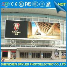 outdoor full color p10 led display module rotatingl advertising display 20mm photo snap frame