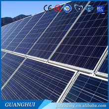 China PV 250 watt photovoltaic solar panel module manufacturer 255w poly solar panel ce for home on grid solar power system