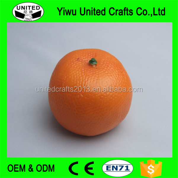 Decorative Artificial Orange Fruits Fake Foam Orange