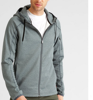 Mens custom sports zipper wholesale plain hoodie jackets