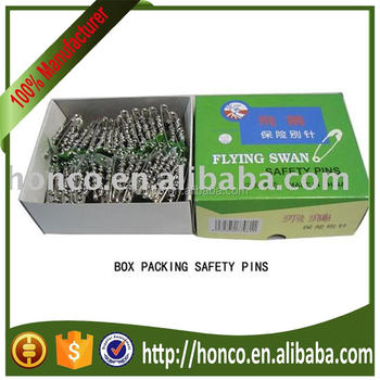Cheapest zinc plating 0-1-2 bunch safety pins