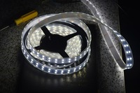 hot sale Double Row LED Strip Light flexible RGB 5M 5050 120led/m waterproof IP67 600