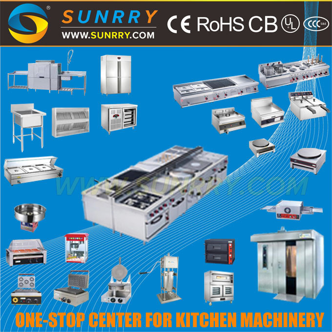 Chinese Restaurant Kitchen Equipment chinese commercial automatic stainless steel electric and gas
