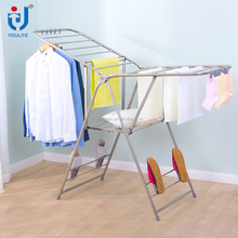 Hot sale wing shaped stainless steel clothes drying rack