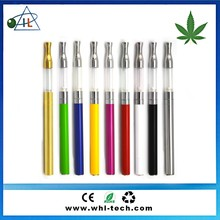 Cbd oil tank disposable .5ml 1ml e cig vape pen , LED light 280mah rechargeable touch stylus automatic battery for cbd oil tank