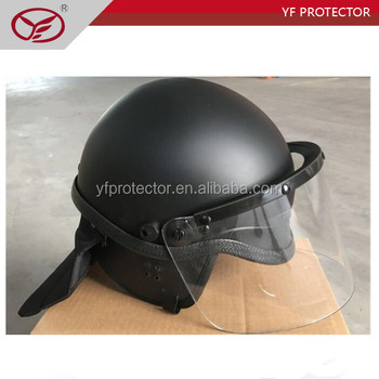 Military ABS safety Riot control helmet with visor