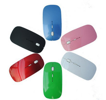 Best selling colorful usb Ultrathin 2.4G Wireless mouse