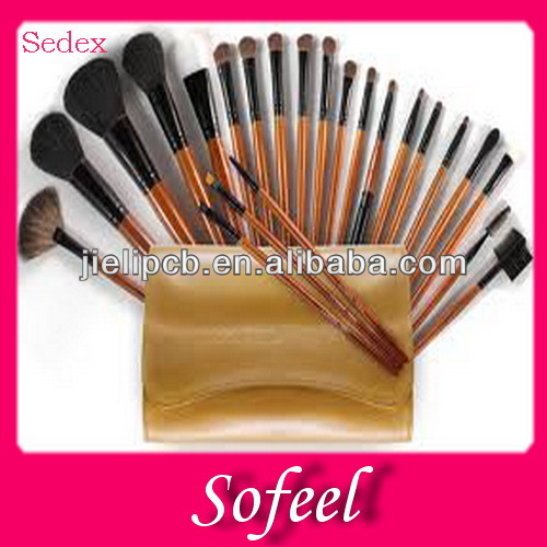 Sofeel hot sale nylon hair cosmetic bag brush holder