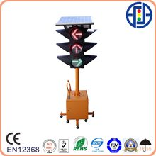 Movable Solar Power RYG Traffic Arrow Signal Light from 4 Direction