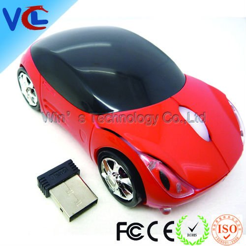 3d car mouse wireless With Ce,Rohs Certification from BSCI and ISO 9001 factory