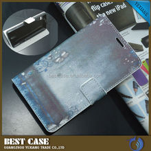 Book Style Leather Flip Case For Huawei Ascend G700 Back Cover