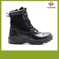 2016 new GB726 black wenzhou work shoes foot protection