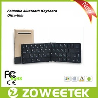 For Ipad air foldable bluetooth keyboard