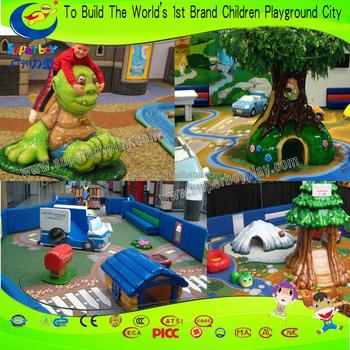Hot sale indoor children kids soft sculpted foam play area for Indoor soft play area for sale