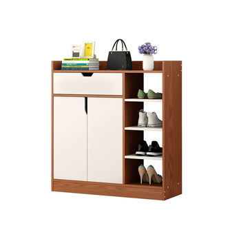 New Style Oak Wooden Shoe Rack Shoe Cabinet Design