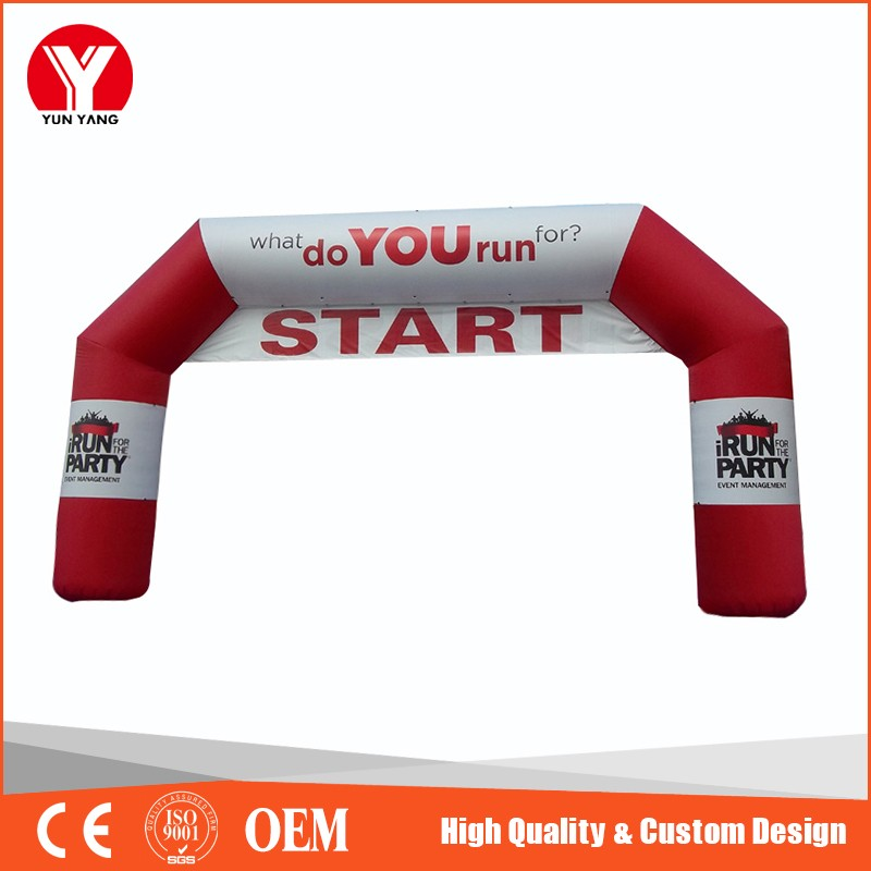Cheap Inflatable start finish line arch, balloon arch