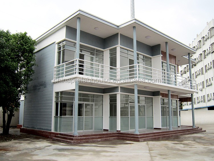 Most popular prefab modular fiber cement villa for africa