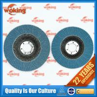 180x22 Flap discs of P80 Zirconia abrasive