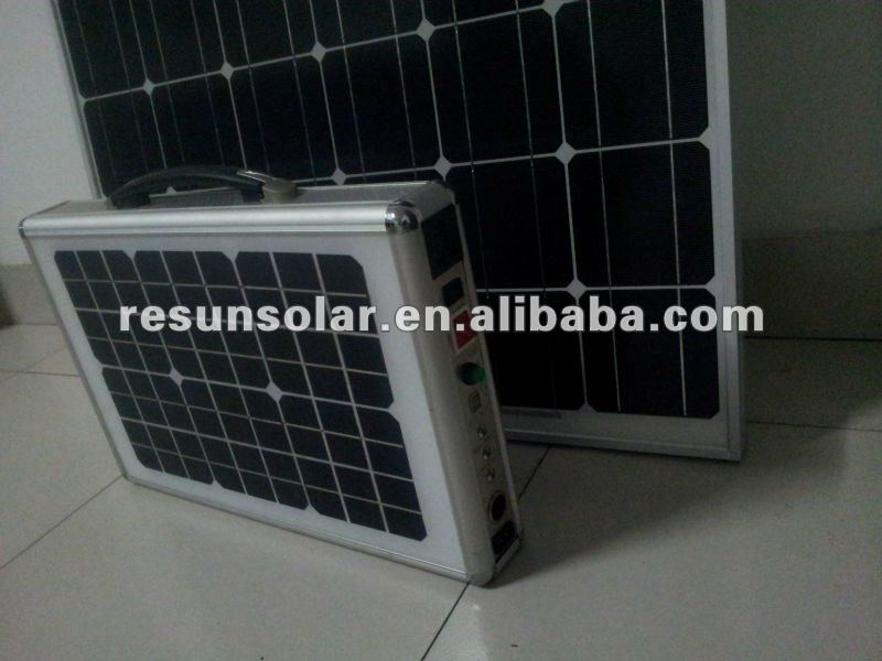 100watt folding portable solar panel kit --- Factory direct sale