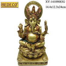 Indian antique ganesha statue,resin ganesha buddha statue, buddha statues for sale