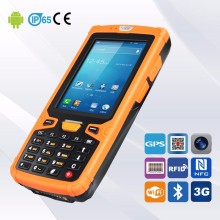 3G GPRS GSM WCDMA Bluetooth Wifi Handheld Inventory Scanner For 1D 2D Barcode