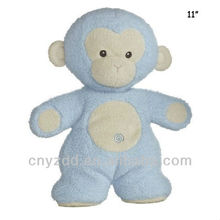 Plush Blue Monkey Toys Stuffed Monkey Toys