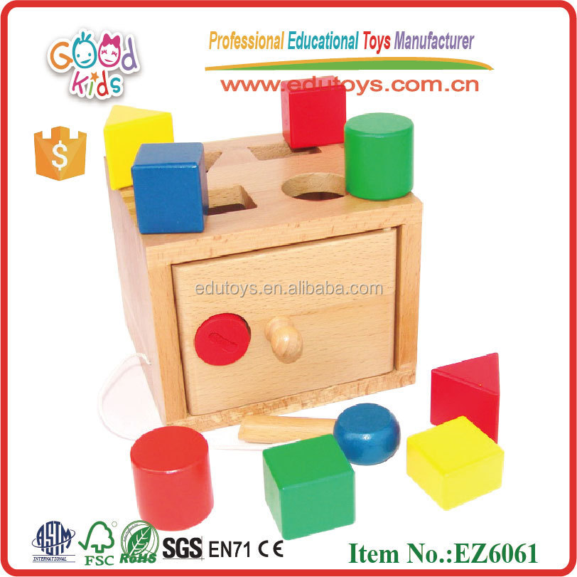 Shape Box Teaching early Educational wooden Toys