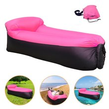 waterproof custom air sofa outdoor inflatable lounger hangout chair sofa relax