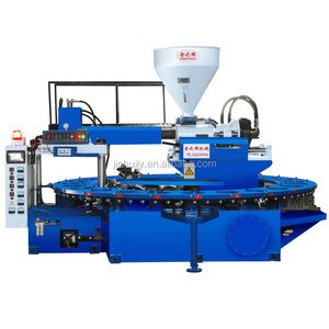 High quality PVC air blowing slipper making machine / PCU shoe making machine /PVC air blowing shoe injection moulding machine