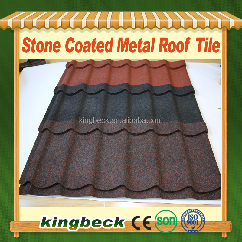 building materials aluminium zinc roofing sheets/cheap metal stone tiles
