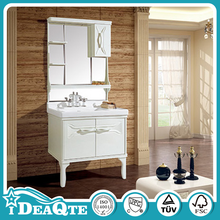 High Gloss White PVC Bathroom Cabinet Simple Design Bathroom Furniture