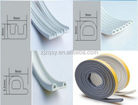 Self-adhesive EPDM Form Rubber seal