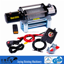 12/24V Electric Wire Rope Winch 4500, 5000, 6000 lbs with Remote Control