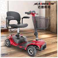 wholesale 4 wheels fully enclosed electric motors UK PG controller mobility scooter