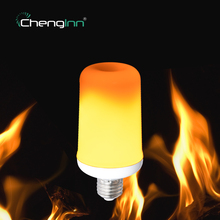 2 Modes Dynamic holiday Flame Effect E27 led flame bulb lamp Emulation Fire Burning Flicker Lantern Chenglnn